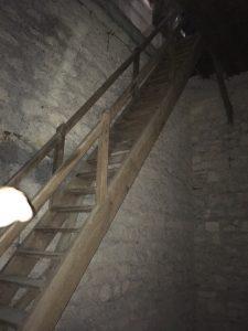 L'escalier vertigineux !