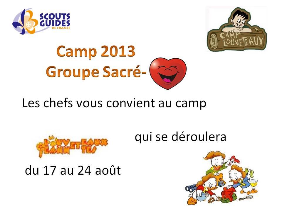 camp loup 2013